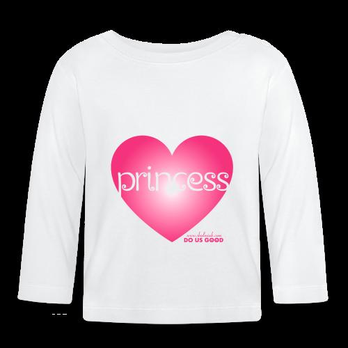 PRINCESS - Vauvan pitkähihainen paita
