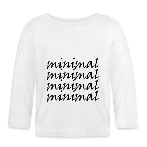 Minimal Design - Baby Langarmshirt