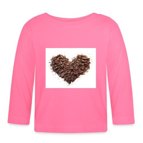 LOVERZ GONNA LOVE chocolat - T-shirt manches longues Bébé