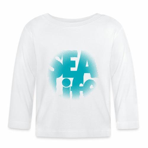Sealife surfing tees, clothes and gifts FP24R01A - Vauvan pitkähihainen paita