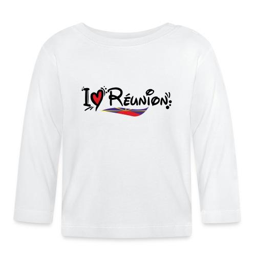 i love Réunion - MAHAVELI - T-shirt manches longues Bébé