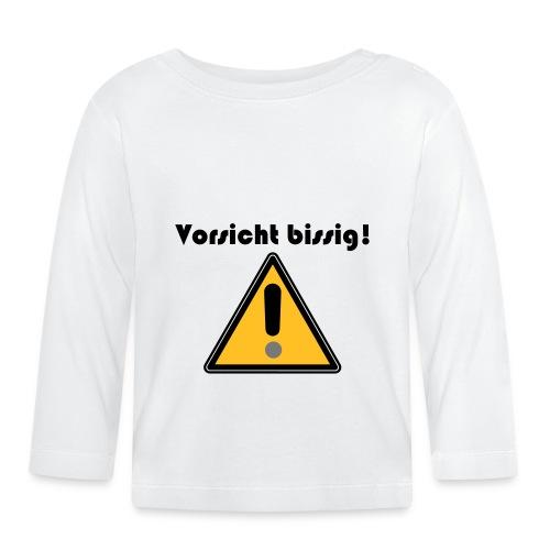 Vorsicht bissig - Baby Langarmshirt