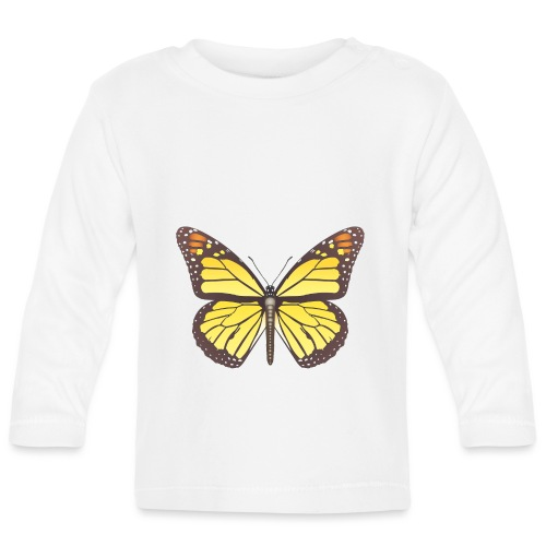 190520 monarch butterfly lajarindream - Camiseta manga larga bebé