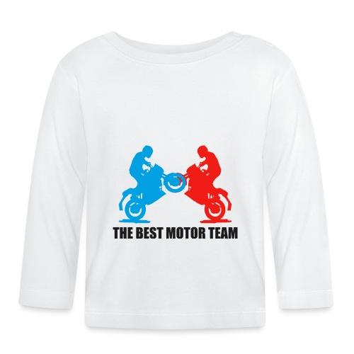Najlepszy zespół motocyklistów - Koszulka niemowlęca z długim rękawem