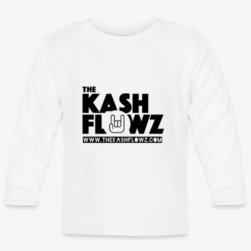 The Kash Flowz Official Web Site Black - T-shirt manches longues Bébé