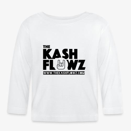 The Kash Flowz Official Web Site Black - T-shirt manches longues Bébé