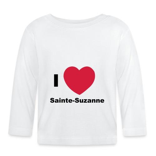 i love sainte suzanne - T-shirt manches longues Bébé