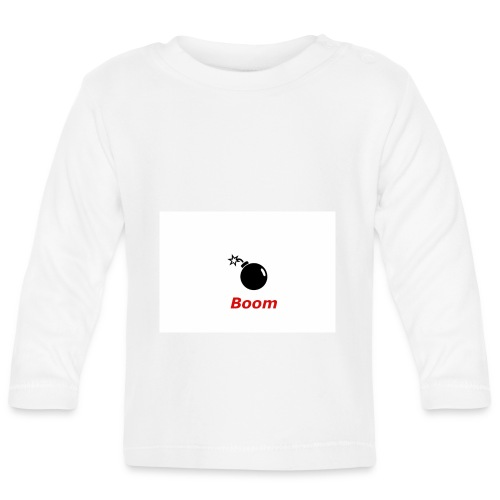 Bomba - Koszulka niemowlęca z długim rękawem