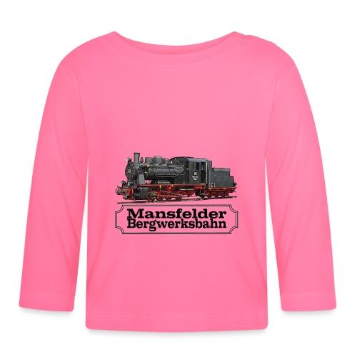 mansfelder bergwerksbahn dampflok 1 - Baby Langarmshirt