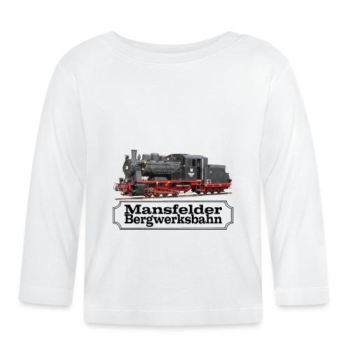 mansfelder bergwerksbahn dampflok 3 - Baby Langarmshirt