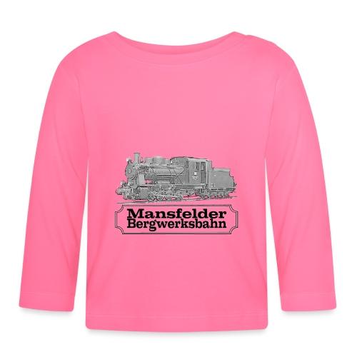 mansfelder bergwerksbahn dampflok 2 - Baby Langarmshirt