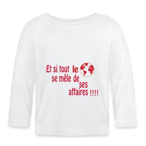 BNT création - T-shirt manches longues Bébé