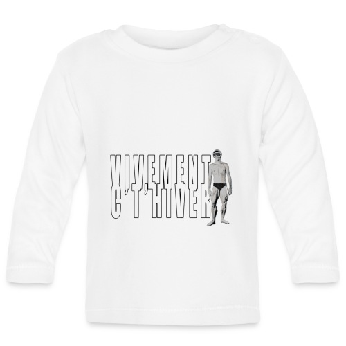 TELEMARK Vivement cet Hiver - T-shirt manches longues Bébé