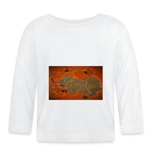 Ahneus - Vauvan pitkähihainen paita