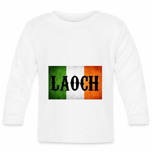 irish flag Laoch - T-shirt manches longues Bébé