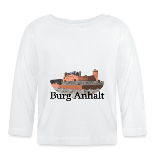 burg anhalt 3 - Baby Langarmshirt