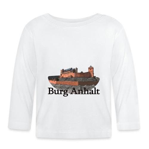 burg anhalt 1 - Baby Langarmshirt