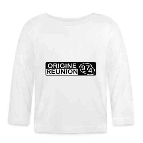 Origine Réunion 974 - v2 - T-shirt manches longues Bébé