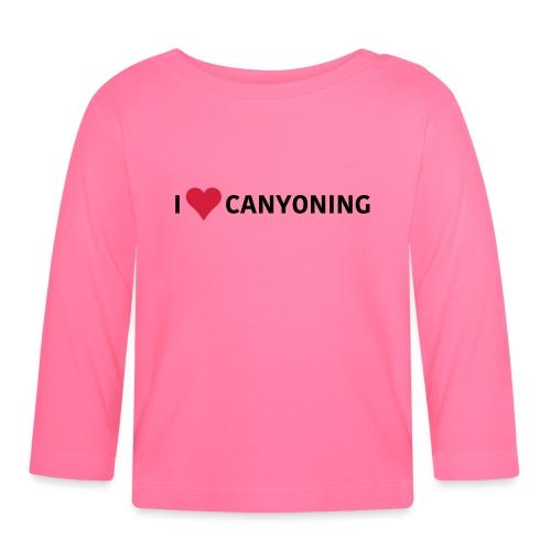 I Love Canyoning - Baby Langarmshirt