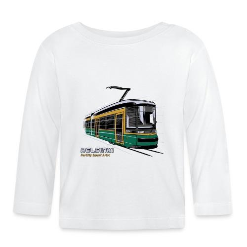 Helsingin Raitiovaunu T-paidat, 154 upeaa tuotetta - Vauvan pitkähihainen paita
