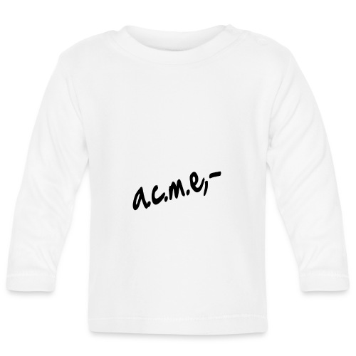 acmeproductionswhite - Baby Langarmshirt