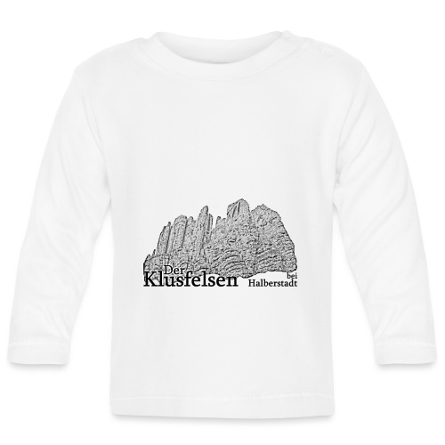 klusfelsen bei halberstadt 2 - Baby Langarmshirt