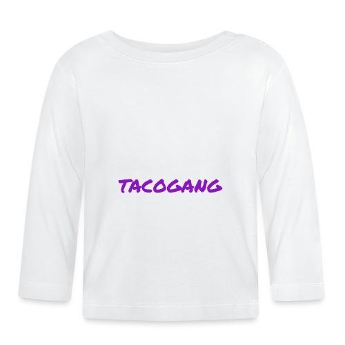 TACOGANG - Langarmet baby-T-skjorte