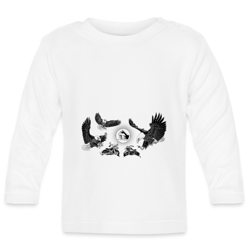 Three Eagles dancing for two bikes. - T-shirt