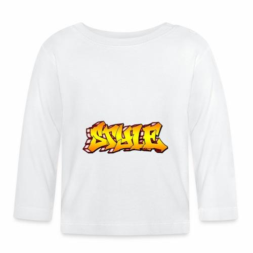 Camiseta estilo - Camiseta manga larga bebé