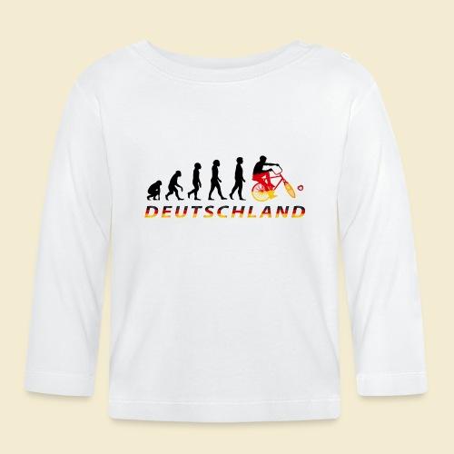 Radball | Evolution Deutschland - Baby Langarmshirt