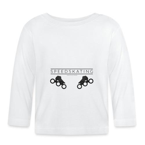 Speedskating Professional Black - Baby Langarmshirt