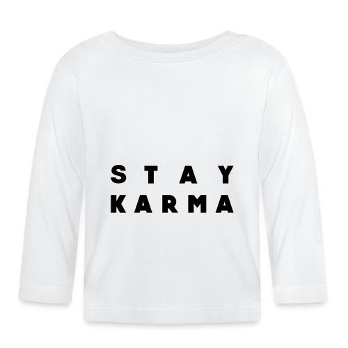 Stay Karma - Maglietta a manica lunga per bambini