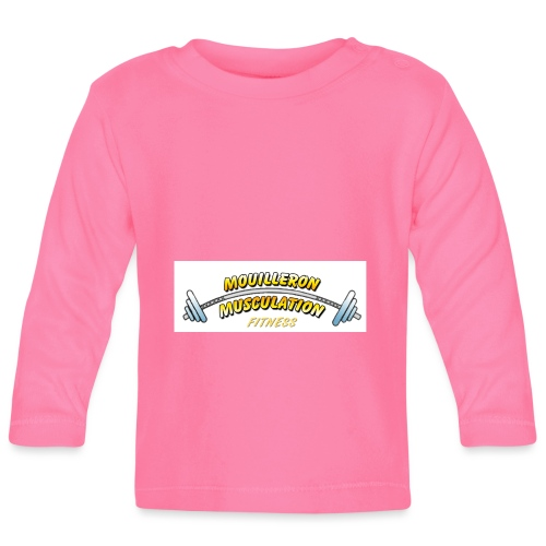 mouilleron muscu logo pour tee shirt 311 - T-shirt manches longues Bébé