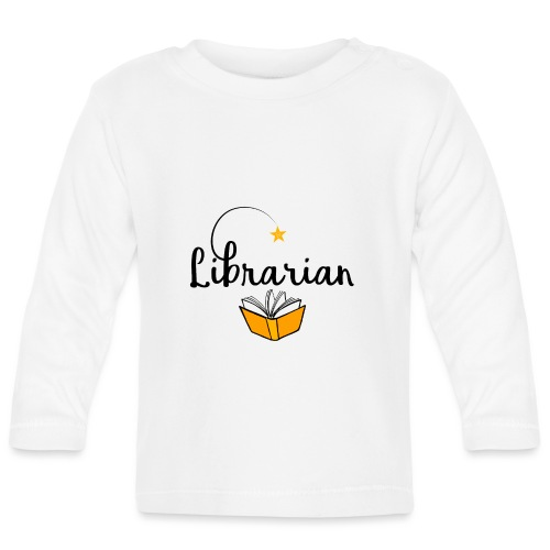 0326 Librarian & Librarian - Baby Long Sleeve T-Shirt