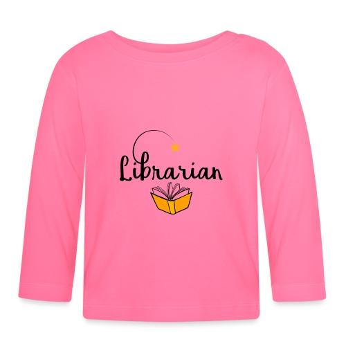0326 Librarian & Librarian - Baby Long Sleeve T-Shirt