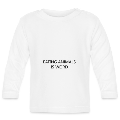 Eating animals is weird - Maglietta a manica lunga per bambini