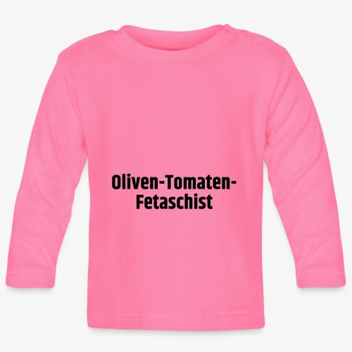 Oliven-Tomaten-Fetaschist - Baby Langarmshirt