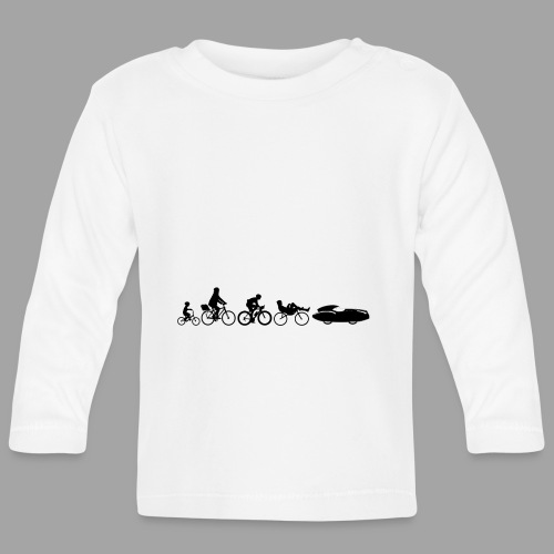 Bicycle evolution black Quattrovelo - Vauvan pitkähihainen paita