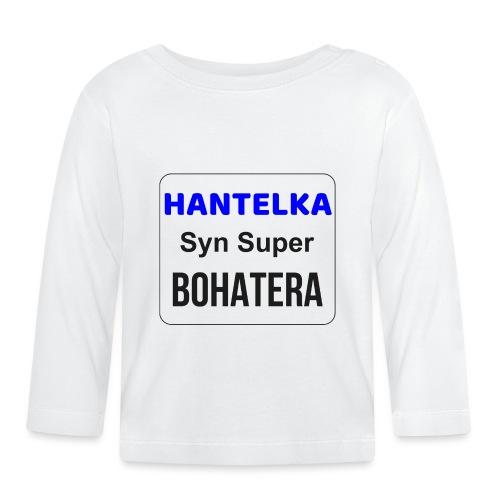 Hantelka - Koszulka niemowlęca z długim rękawem