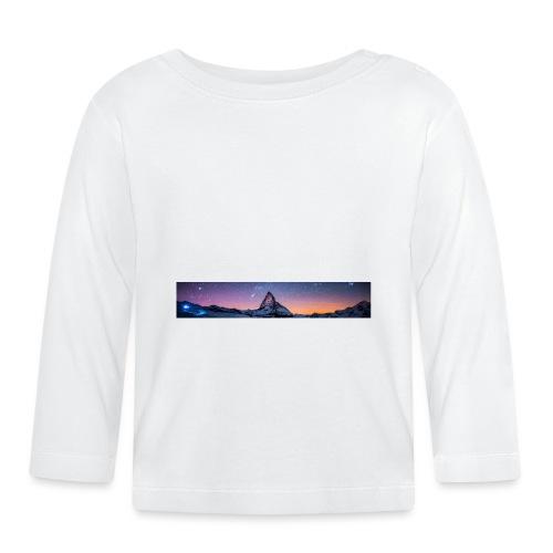 Mountain sky - Baby Langarmshirt