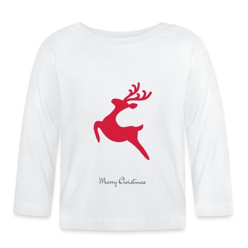 Caribou 8, Merry Christma - T-shirt manches longues Bébé