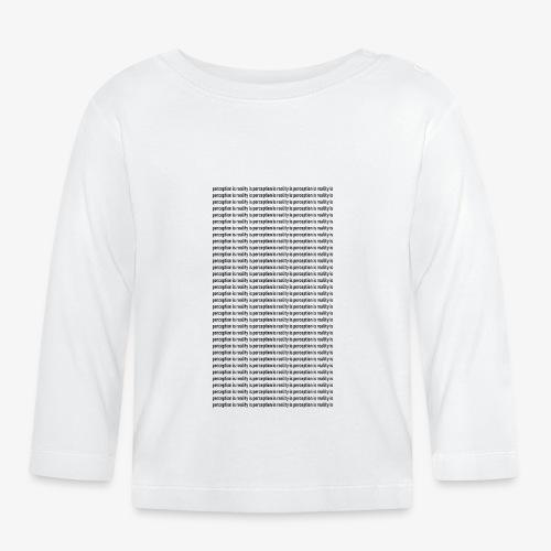 perception - Koszulka niemowlęca z długim rękawem