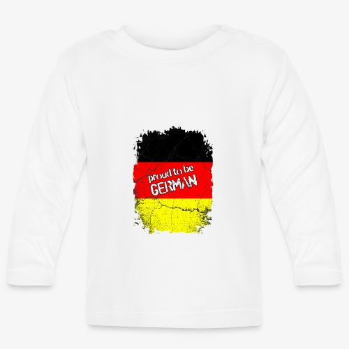 Proud to be german Stolzer Deutscher - Baby Langarmshirt