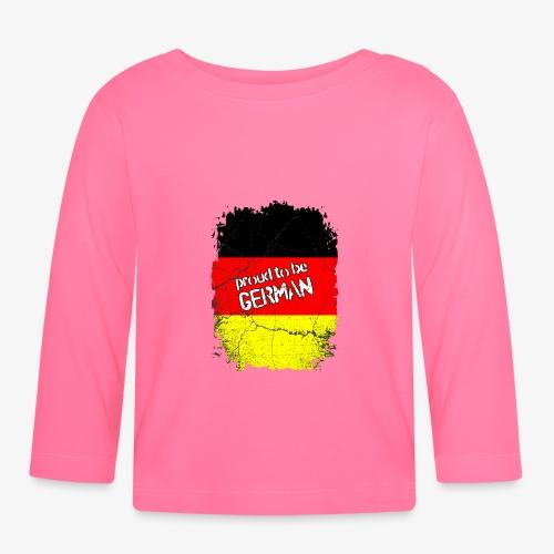Proud to be german Stolzer Deutscher - Baby Langarmshirt