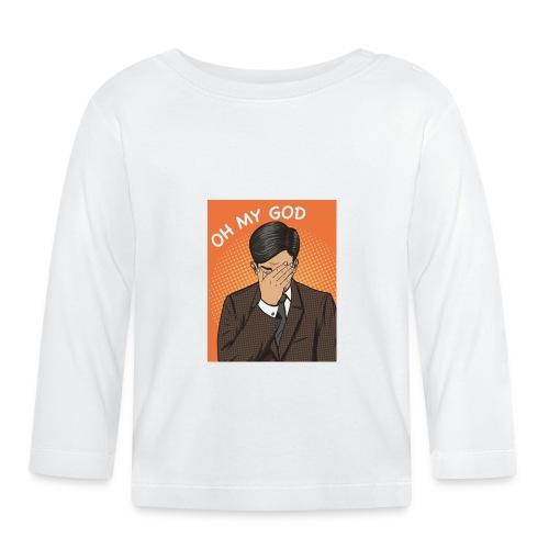 oh my good - Camiseta manga larga bebé