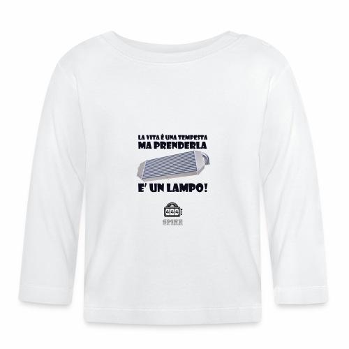 INTERCOOLER (nero) - Maglietta a manica lunga per bambini