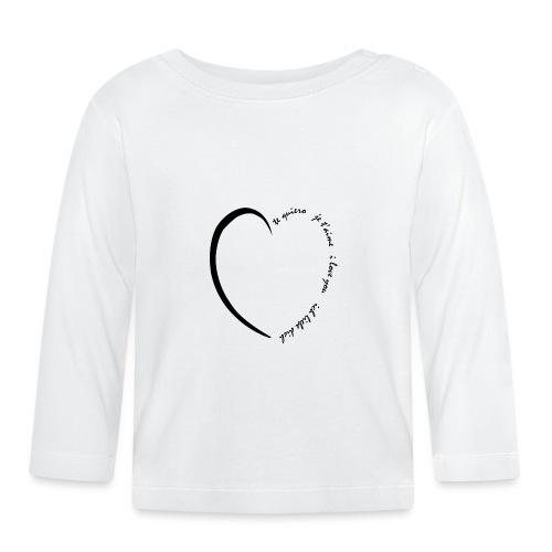 Multi Love - T-shirt manches longues Bébé