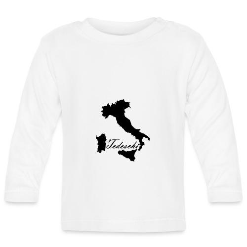Tedeschi noir - T-shirt manches longues Bébé
