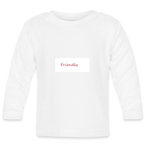 Friendly - Baby Langarmshirt