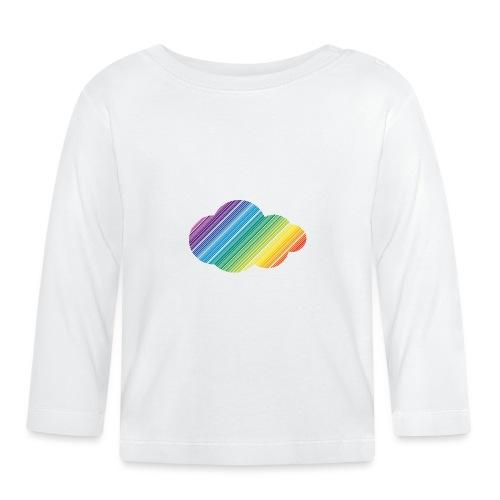 Regnbågsmoln - Långärmad T-shirt baby